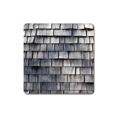 Weathered Shingle Square Magnet