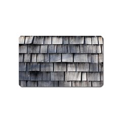 Weathered Shingle Magnet (name Card)