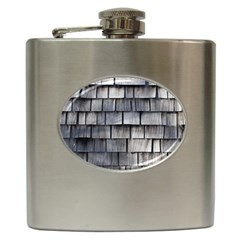 Weathered Shingle Hip Flask (6 Oz)