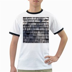 Weathered Shingle Ringer T Shirts