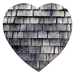 Weathered Shingle Jigsaw Puzzle (heart)