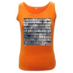 Weathered Shingle Women s Dark Tank Tops