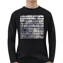 Weathered Shingle Long Sleeve Dark T Shirts