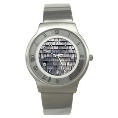 Weathered Shingle Stainless Steel Watches