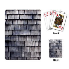 Weathered Shingle Playing Card