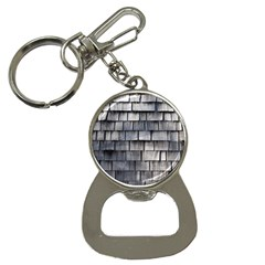 Weathered Shingle Bottle Opener Key Chains