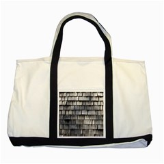 Weathered Shingle Two Tone Tote Bag
