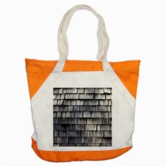Weathered Shingle Accent Tote Bag