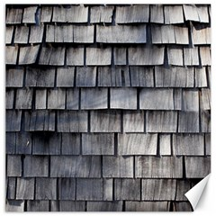 Weathered Shingle Canvas 16  X 16