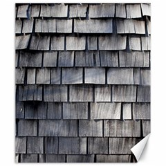 Weathered Shingle Canvas 20  X 24
