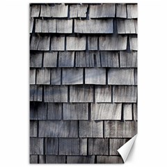 Weathered Shingle Canvas 24  X 36