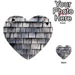 WEATHERED SHINGLE Playing Cards 54 (Heart)  Front - Spade2