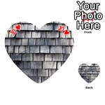 WEATHERED SHINGLE Playing Cards 54 (Heart)  Front - Heart10