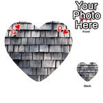 WEATHERED SHINGLE Playing Cards 54 (Heart)  Front - HeartQ