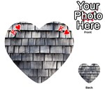 WEATHERED SHINGLE Playing Cards 54 (Heart)  Front - HeartK