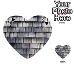 WEATHERED SHINGLE Playing Cards 54 (Heart)  Front - Spade5