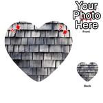 WEATHERED SHINGLE Playing Cards 54 (Heart)  Front - Diamond7