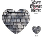 WEATHERED SHINGLE Playing Cards 54 (Heart)  Front - Club3