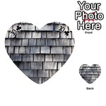 WEATHERED SHINGLE Playing Cards 54 (Heart)  Front - Club10