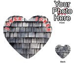 WEATHERED SHINGLE Playing Cards 54 (Heart)  Front - Joker2