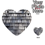 WEATHERED SHINGLE Playing Cards 54 (Heart)  Front - Spade10