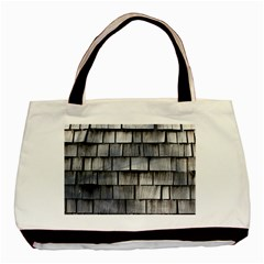 Weathered Shingle Basic Tote Bag (two Sides)