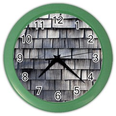 Weathered Shingle Color Wall Clocks