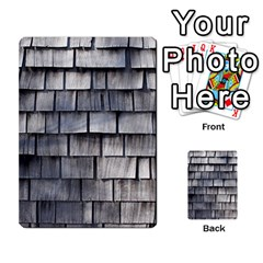 Weathered Shingle Multi Purpose Cards (rectangle)