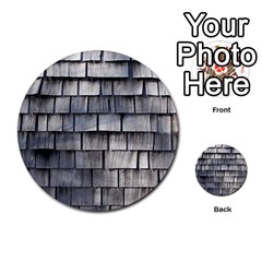 Weathered Shingle Multi Purpose Cards (round)