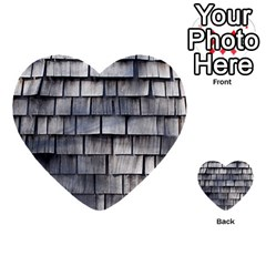 Weathered Shingle Multi Purpose Cards (heart)