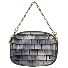 Weathered Shingle Chain Purses (one Side)