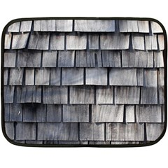 Weathered Shingle Double Sided Fleece Blanket (mini)