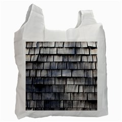 Weathered Shingle Recycle Bag (one Side)