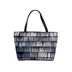 Weathered Shingle Shoulder Handbags
