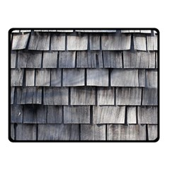 Weathered Shingle Fleece Blanket (small)