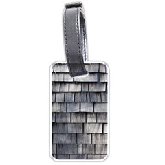 WEATHERED SHINGLE Luggage Tags (One Side)