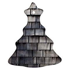 Weathered Shingle Ornament (christmas Tree)