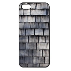 WEATHERED SHINGLE Apple iPhone 5 Seamless Case (Black)