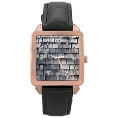 WEATHERED SHINGLE Rose Gold Watches