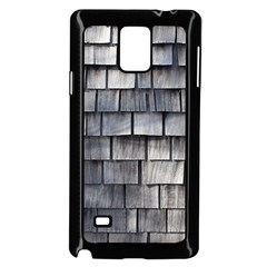 WEATHERED SHINGLE Samsung Galaxy Note 4 Case (Black)