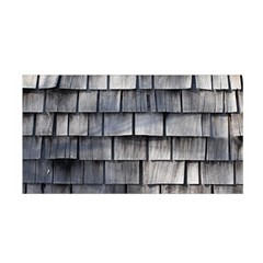 WEATHERED SHINGLE Satin Wrap