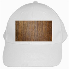 Walnut White Cap