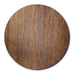 WALNUT Round Mousepads Front