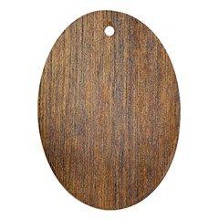 Walnut Ornament (oval)