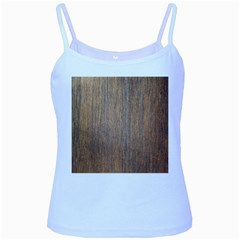 Walnut Baby Blue Spaghetti Tanks