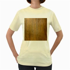 Walnut Women s Yellow T Shirt