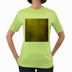 Walnut Women s Green T Shirt
