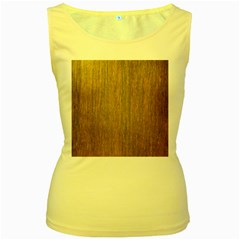 Walnut Women s Yellow Tank Tops