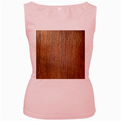 Walnut Women s Pink Tank Tops