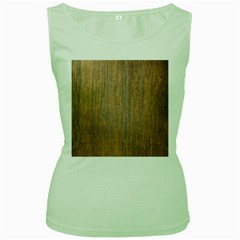 Walnut Women s Green Tank Tops
